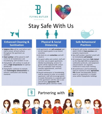 New Stay Safe With Us programme to safeguard all staff and guests